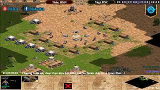 AoE 22 Assyrian Hoàng Mai Nhi, Thầu vs Yugi, Đinh Xuân Canh Ngày 20/07/2018