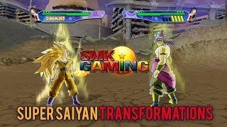 Dragonball Z Budokai 3 HD - Super Saiyan Transformations