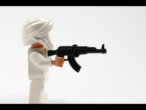 Lego   Brickarms    AK-47 V.1   Black   Review/Showcase