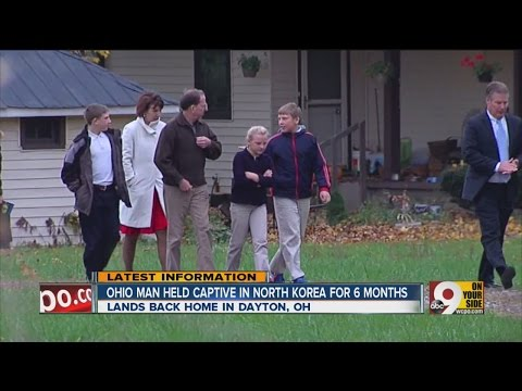 SW Ohio man released from North Korea after being detained in the secretive country for nearly six m