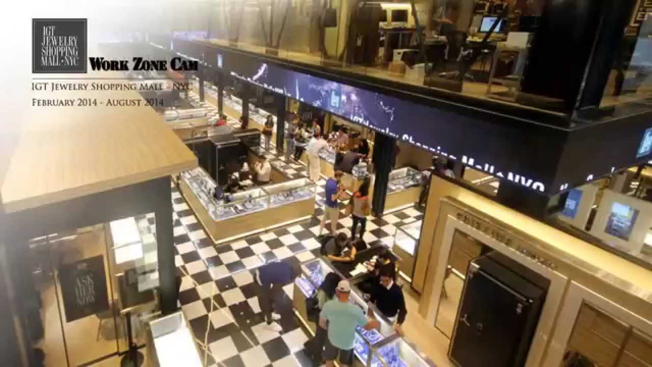 IGT Jewelry Shopping Mall Time Lapse YouTube