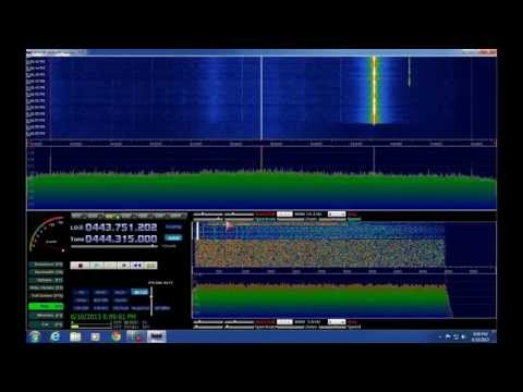 HDSDR  Installation with the TERRATEC dongle  Realtek RTL2832U & Elonics E4000  - AF5DN