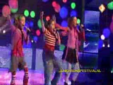 Jesc 2007 Netherlands: Lisa Amy & Shelley - Adem in Adem uit