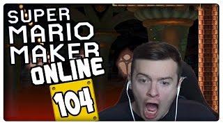 """SUPER MARIO MAKER ONLINE Part 104: Harte & lustige Level bei First Try or Skip Challenge """"schwer"""""""