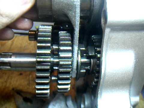Разборка двигателя 139FMB.