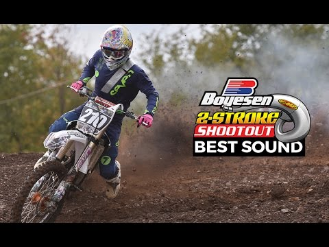 Best Sound Contest - Boyesen 2 Stroke Shootout