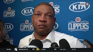 Doc Rivers emotional in remembering Kobe Bryant | FOX Sports West