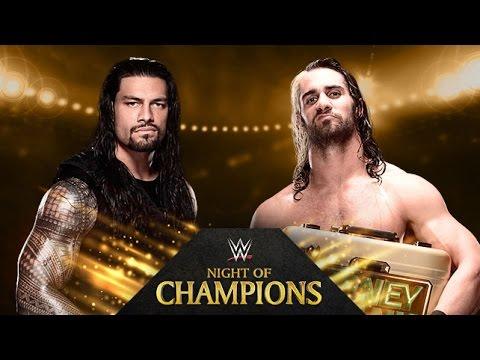 Roman Reigns vs. Seth Rollins - Night of Champions - WWE 2K14 Simulation