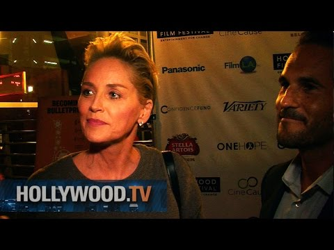 Sharon Stone premieres My Name Is Water - Hollywood.TV