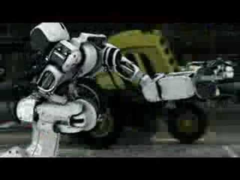 Mitsubishi Eclipse Robot Factory Video