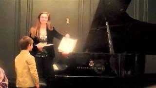 Art of Piano Playing Music School Recital Part 1
