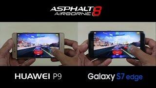Huawei P9 4GB RAM vs Samsung Galaxy S7 Edge - Gaming Test Comparison Review!