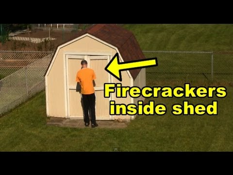 Funny Pranks : Firecracker Scare Prank - YouTube Funny Videos Pranks