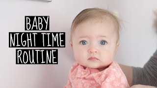 BABY NIGHTTIME ROUTINE - 2018 - Bed Time
