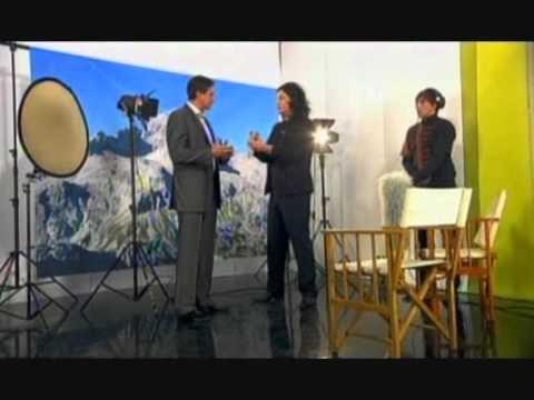 Borut Pahor - Snemanje predvolilnega nagovora 16. 03. 2008