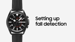 01. Galaxy Watch3: Setting up fall detection   Samsung