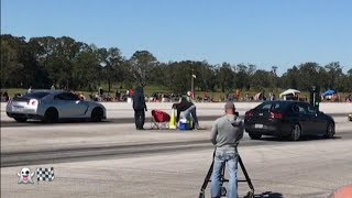REAL CARS 1/2 MILE DRAG RACING
