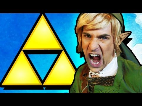 Watch THE LEGEND OF ZELDA RAP [MUSIC VIDEO]
