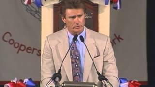 Steve Carlton 1994 Hall of Fame Induction Speech