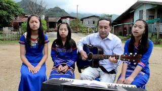 Myanmar Gospel song new  2013-2014 Saw Ruby Family