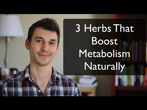 3 Natural Herbs That Have Been Proven to Boost Metabolism