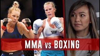 Boxing vs MMA Debate w/ Michelle Waterson