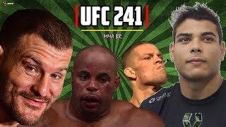 UFC 241 - A noite de Stipe Miocic, Paulo Borrachinha e Nate Diaz