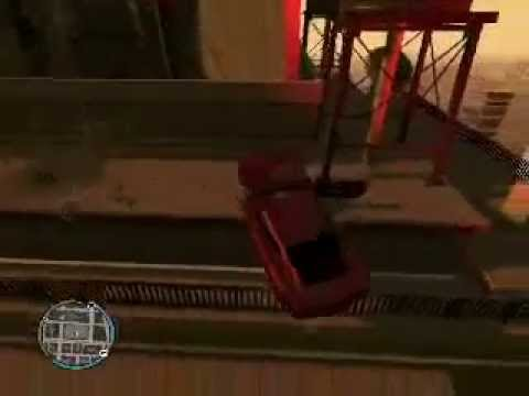 Gta 4 pc-Caidas, golpes y accidentes (parte 3)