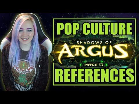 Pop Culture References in WoW Patch 7.3 (Argus) | World of Warcraft Legion