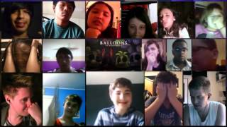 """Balloons"" Song By MandoPony Reaction Mashup"