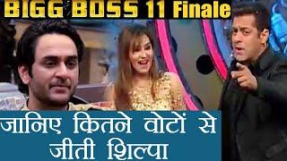 Bigg Boss 11: Shilpa Shinde beats Hina Khan with 7 Million Votes, says KRK | FilmiBeat