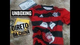 Unboxing camisa do Flamengo 2018/19 (qualidade top)
