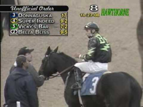 Horse racing oddity: incredible stretch run Video