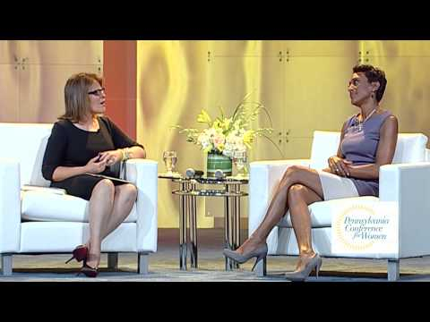 Pennsylvania Conference for Women 2014 - Robin Roberts and Tory Johnson Interview