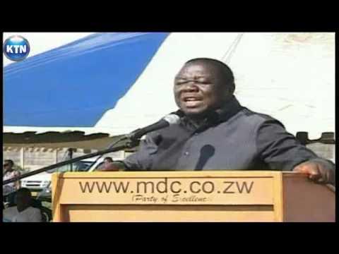Zimbabwe MDC rally