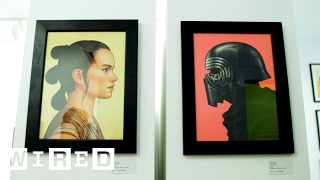 Star Wars Fans Wait for Days to See This Bonkers SXSW Poster Exhibit | WIRED