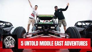 TOP 5 MIDDLE EAST ADVENTURES   Untold!