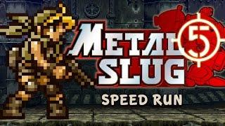 """METAL SLUG 5 - """"ALL SECRETS"""" Speed RuN"""