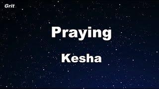 Download Lagu Praying - Kesha Karaoke 【No Guide Melody】 Instrumental Gratis STAFABAND