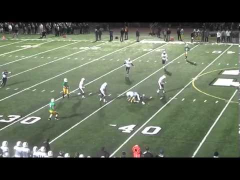 Nick Johnson #42 -- Mount Carmel High School Chicago 2012 Jr. OLB