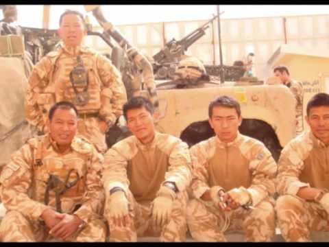 Gurkhas Foxtrot coy 2RGR in Afghanistan