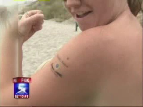 Blacks Beach Bares Nude Volleyball on Fox 5 News Video