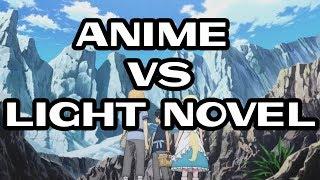 SAO Alicization Episode 1 Adaptation Comparison: LN vs Anime