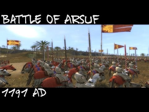 Medieval 2 Total War : Battle of Arsuf 1191 AD