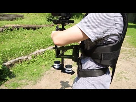 FLYCAM 5000|Steadycam Stabilizer|Comfort Arm and Vest - Assembling Video
