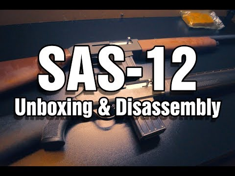 SAS-12 Disassembly & Unboxing (How To Field Strip Chinese Semi-Auto 12 Gauge Magazine Fed)