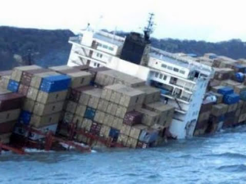 Accidentes con buques de carga , accidentes de barco , nave se estrella