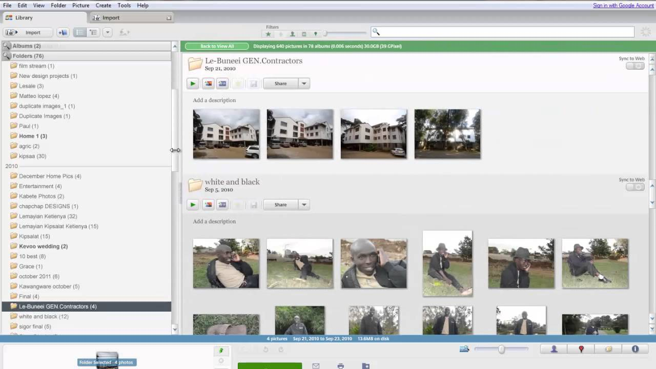 how to delete duplcate pics on picassa