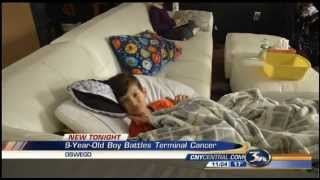 9-year-old Oswego Boy Braves Terminal Cancer