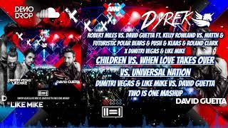 Children vs When Love Takes Over (Dimitri Vegas & Like Mike vs David Guetta Two Is One Mashup)